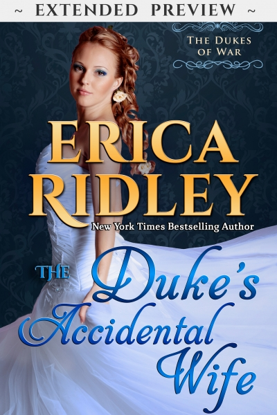 The Duke's Accidental Wife - Extended Preview