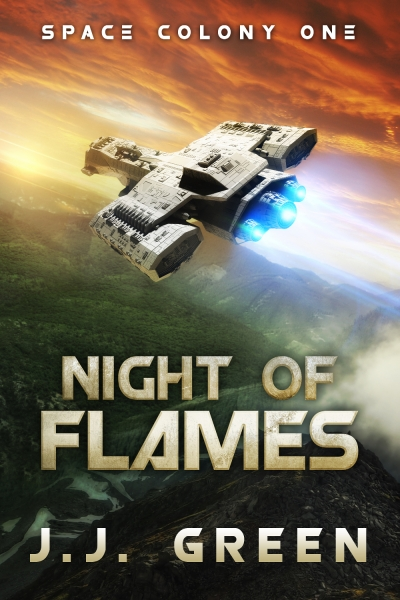Night of Flames (Prequel to Space Colony One)