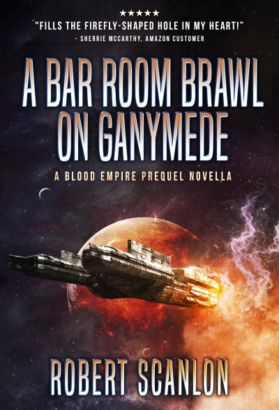 A Bar Room Brawl on Ganymede