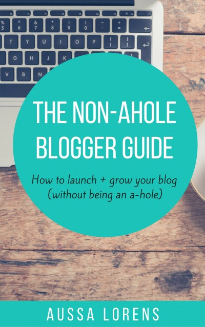 The Non A-Hole Blogger Guide
