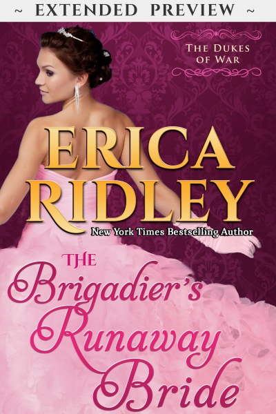 The Brigadier's Runaway Bride - Extended Preview