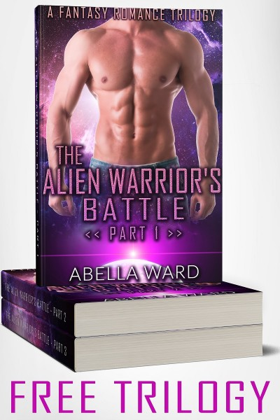 "Sci-Fi Romance Trilogy ""The Alien Warrior's Battle"""