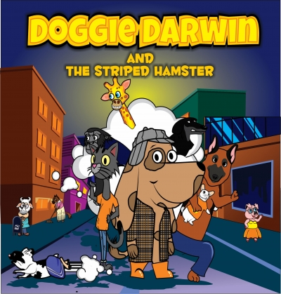 DOGGIE DARWIN AND THE STRIPED HAMSTER
