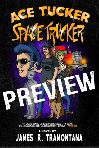 Ace Tucker Space Trucker (Preview)
